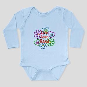 Live Love Read Long Sleeve Infant Bodysuit
