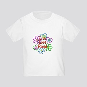 Live Love Read Toddler T-Shirt