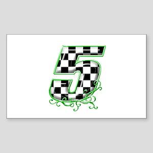 RaceFashion.com Rectangle Sticker