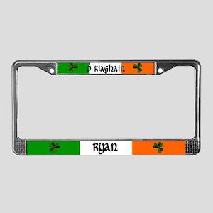Ryan in Irish & English License Plate Frame