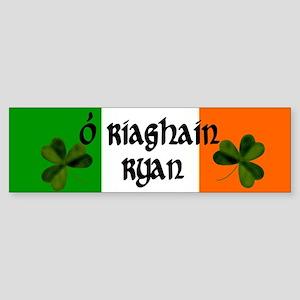 Ryan in Irish & English Bumper Sticker