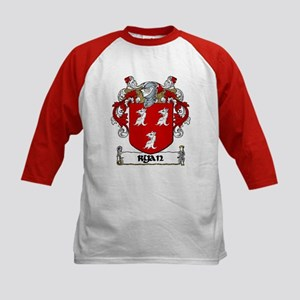 Ryan Coat of Arms Kids Baseball Jersey