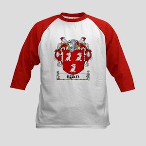 Ryan Coat of Arms Kids Baseball Jersey