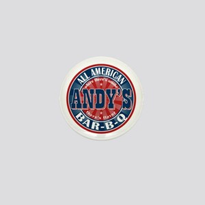 Andy's All American BBQ Mini Button