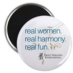"Real Women 2.25"" Magnet (100 pack)"