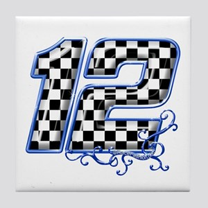RaceFashion.com 12 Tile Coaster