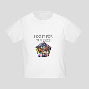 I do it for the dice! (Pentagonal) Toddler