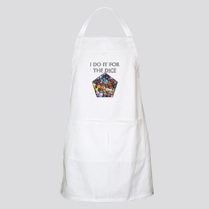 I do it for the dice! (Pentagonal) BBQ Apron
