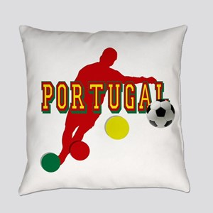 Portugal Soccer Player Everyday Pillow