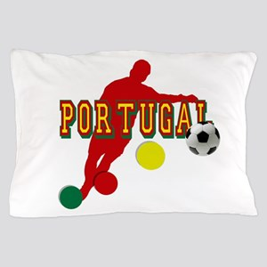 Portugal Soccer Player Pillow Case