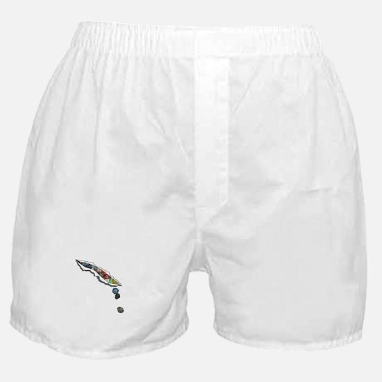 I Bleed Dice (No Text) Boxer Shorts