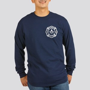 The Mason Fire Fighter Long Sleeve Dark T-Shirt