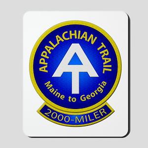 Appalachian Trail 2000-MILER Mousepad