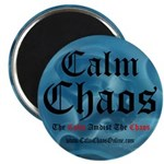 "Calm Chaos 2.25"" Magnet (10 pack)"