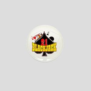 Blackjack Mini Button