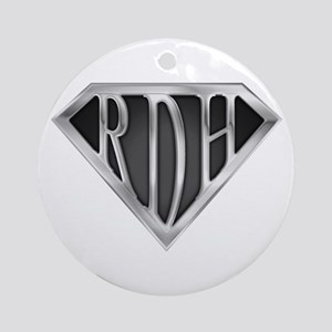 SuperRDH(METAL) Ornament (Round)