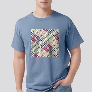 retro cassette tape funky pattern T-Shirt