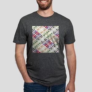 retro cassette tape funky pattern T-Shirt