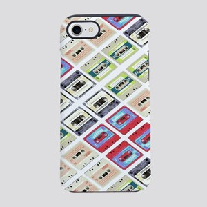retro cassette tape funky pa iPhone 8/7 Tough Case