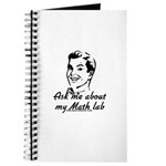 Ask Me About My Math Lab Journal