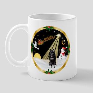 Night Flight/Schipperke Mug