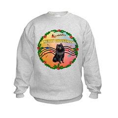 XmasMusic2/Schipperke Sweatshirt