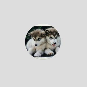 The Huskies Mini Button