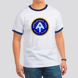 Appalachian Trail Patch Ringer T