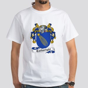 Cartwright Family Crest White T-Shirt