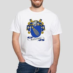Cartwright Family Crest White T-Shirt