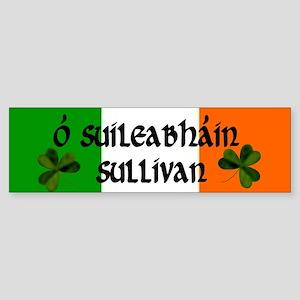 Sullivan in Irish & English Bumper Sticker