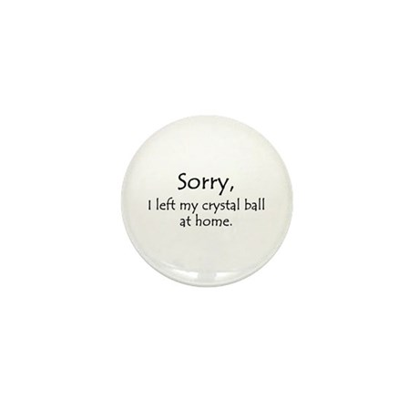 Crystal Ball Mini Button