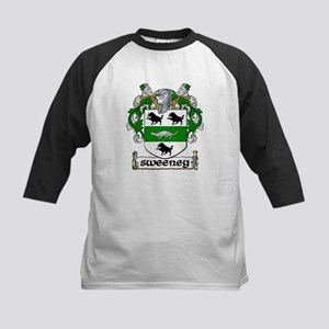 Sweeney Coat of Arms Kids Baseball Jersey