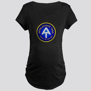 Appalachian Trail Patch Maternity Dark T-Shirt