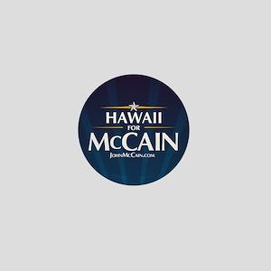 Hawaii for McCain Mini Button