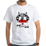 Chambers Family Crest White T-Shirt