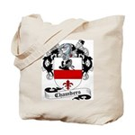Chambers Family Crest Tote Bag