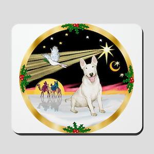 XmasDove/Bull Terrier Mousepad