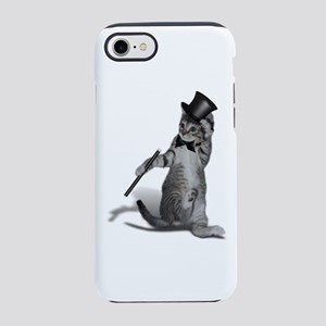 Tap Dancing Cat iPhone 8/7 Tough Case