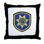 Redwood City Police Throw Pillow