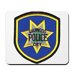 Redwood City Police Mousepad