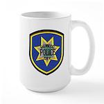 Redwood City Police Large Mug