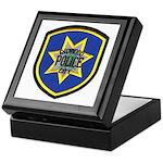 Redwood City Police Keepsake Box