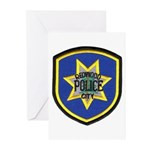Redwood City Police Greeting Cards (Pk of 20)