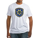 Redwood City Police Fitted T-Shirt