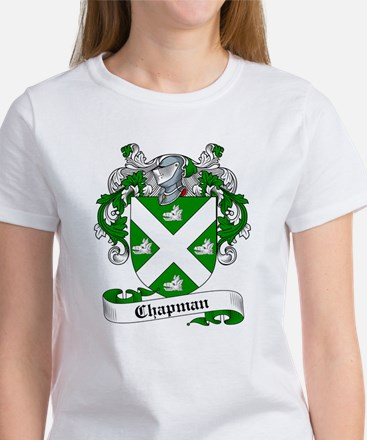 Chapman Family Crest Women's T-Shirt