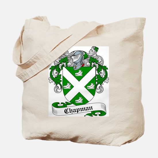 Chapman Family Crest Tote Bag