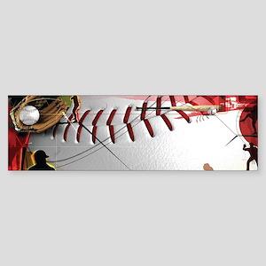 Baseball Compilation Bumper Sticker