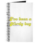 I've Been A Nerdy Boy Journal