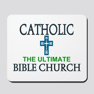 Catholic Bible Church Mousepad